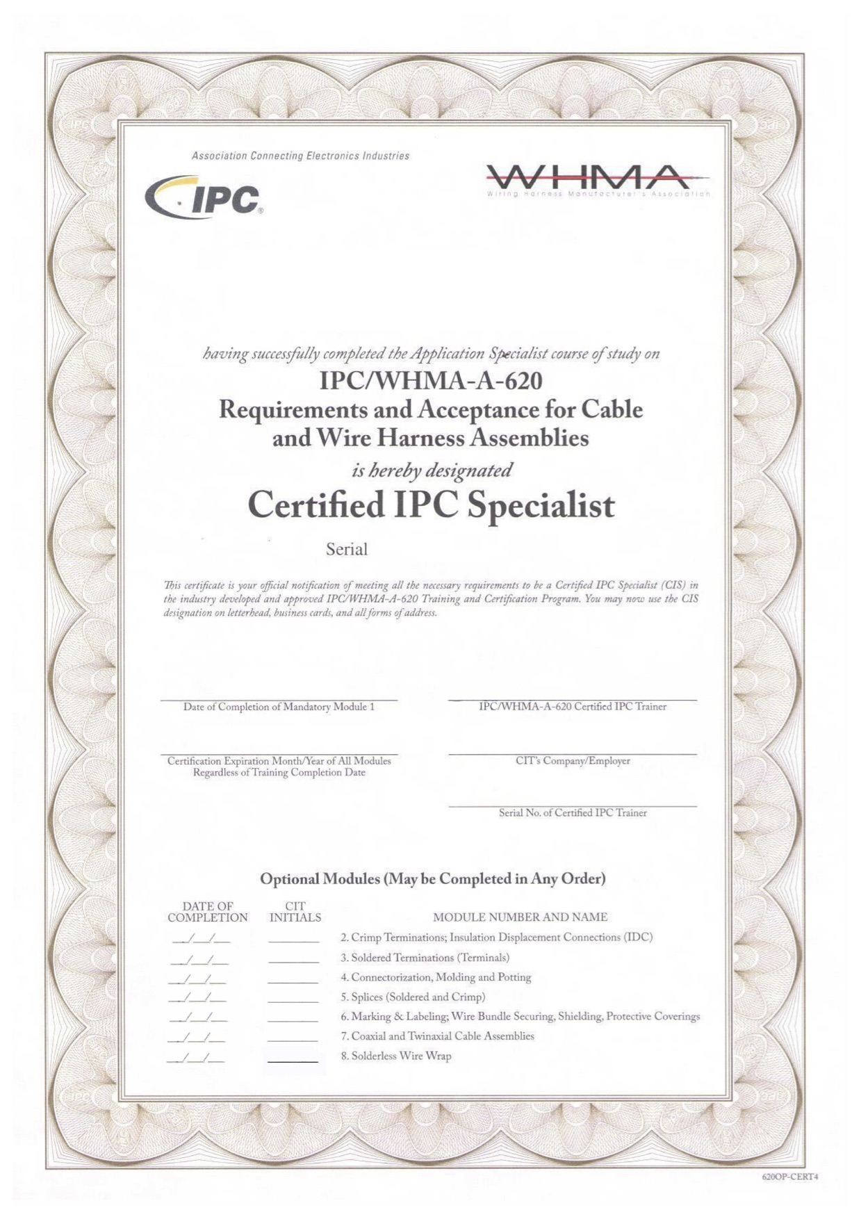 Archiwa Certificate Electro Welle